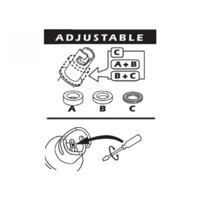 Universele adaptor tekening