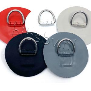 D-ringen kleur met patch PVC 100 mm