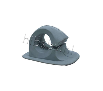 Peddelhouder voor rubberboot licht grijs