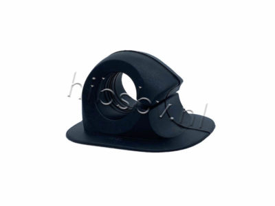 peddelhouder voor rubberboot zwart