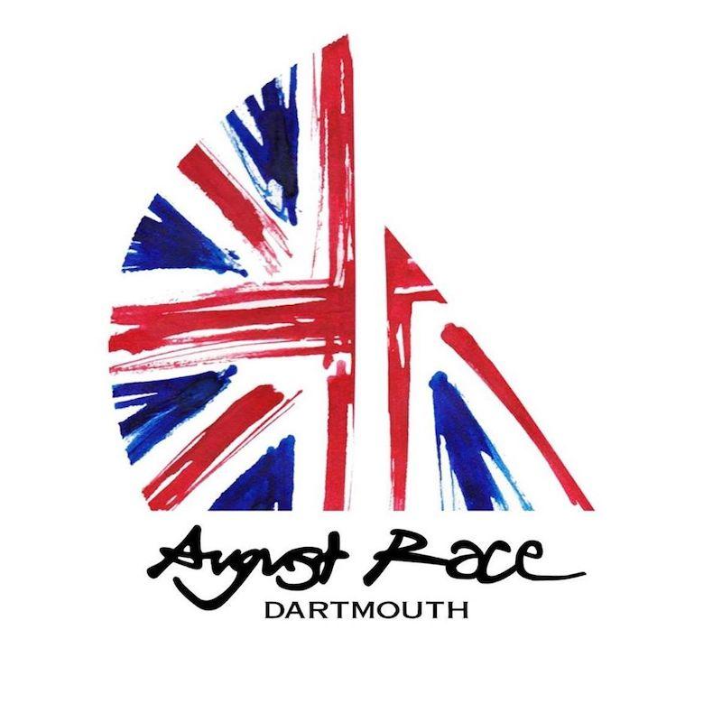 August Race boat logo union jack