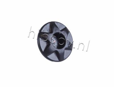Leafield A6 ventiel zwart
