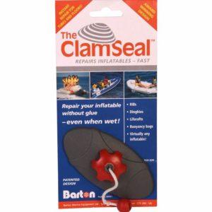 ClamSeal voor noodreparaties aan opblaasbare boten en RIB's